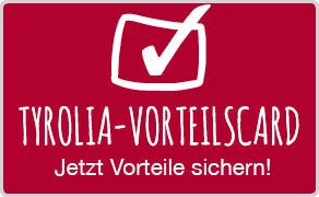 Tyrolia Vorteilscard mit vielen Vorteilen