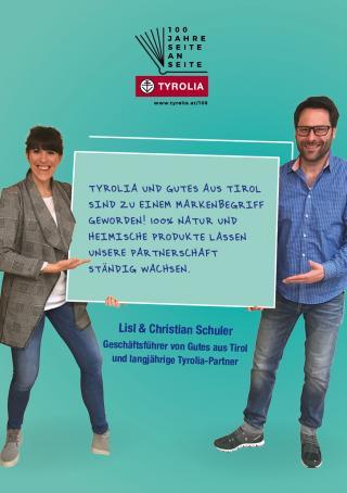 Lisl und Christian Schuler 100 Jahre