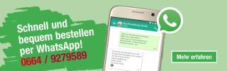 Bestellen Sie jetzt per WhatsApp!