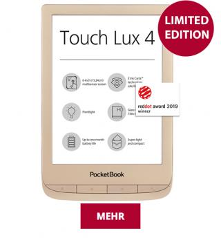 Pocketbook Touch Lux 4 - Limited Edition