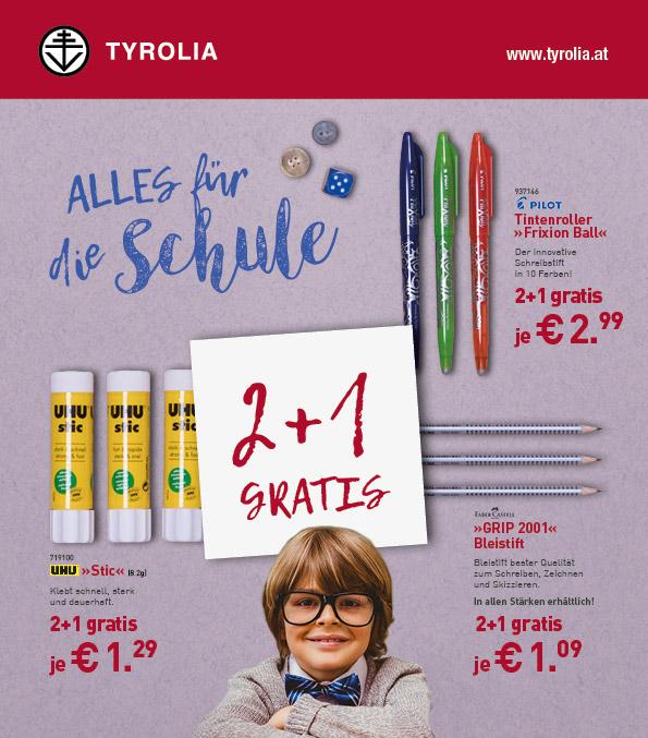 Schulartikel bei Tyrolia kaufen