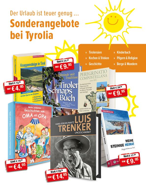 Sonderangebote aus dem Tyrolia-Verlag